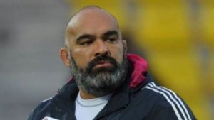 Simon Raiwalui is the new forwards coach for the Wallabies. Picture: Canberra Times