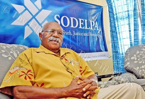 SODELPA leader Sitiveni Rabuka. Picture: FILE