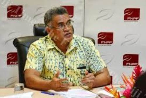 FNPF chief executive officer Jaoji Koroi. Picture: FT FILE
