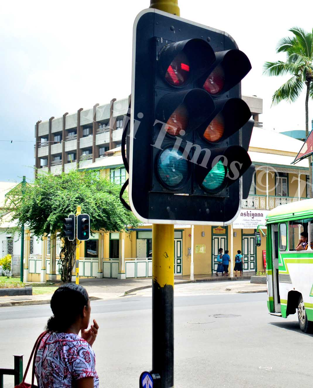 Traffic  lights will be replaced in the next few years . Picture: JONA KONATACI