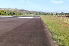 A runway light at Labasa Airport. Picture SUPPLIED