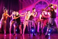 Bollywood dance group performing during the Namaste Pacifika Festival of India celebrations at Kshatriya Hall last night. Picture: JONA KONATACI