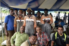 Ba Town Council workers during the ground breaking ceremony. Picture: BALJEET SINGH