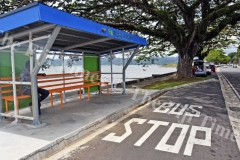 The Fiji Roads Authority bus shelter at Nasese. Picture: RAMA