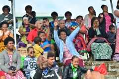 Parents of Gosepl High School showing their support for their children during the passing out parade yesterday. Picture: JOVESA NAISUA