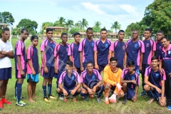 Gospel High School u19 soccer team at DAV College grounds yesterday. Picture: JONA KONATACI