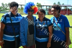 Lelean supporter at Rt Cakobau Park. Picture: JONA KONATACI