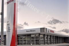 Asco Motors new renovated building near completion at Nabua. Picture: RAMA